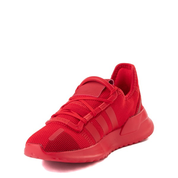 alternate view adidas U_Path Run Athletic Shoe - Little Kid - Scarlet MonochromeALT3
