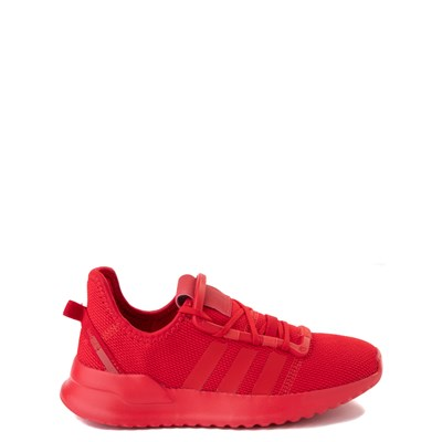 Main view of adidas U_Path Run Athletic Shoe - Little Kid - Scarlet Monochrome