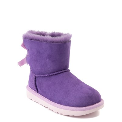 Alternate view of UGG® Mini Bailey Bow II Boot - Little Kid / Big Kid - Violet Bloom