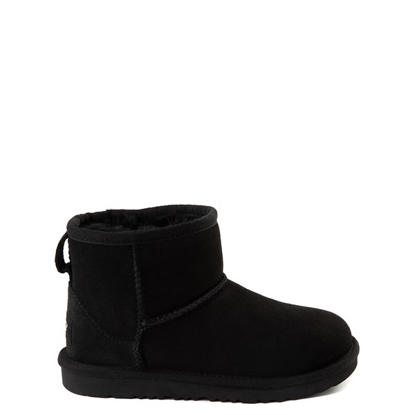 Main view of UGG® Classic Mini II Boot  - Little Kid / Big Kid - Black