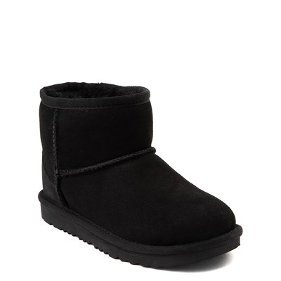 Alternate view of UGG® Classic Mini II Boot  - Little Kid / Big Kid - Black