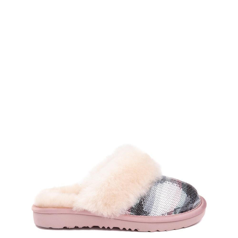 UGG® Cozy II Slipper - Little Kid / Big Kid - Pink / Crystal Rainbow