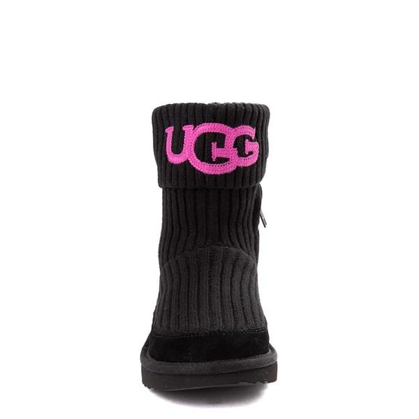 alternate view UGG® Knit Boot - Little Kid / Big Kid - BlackALT4
