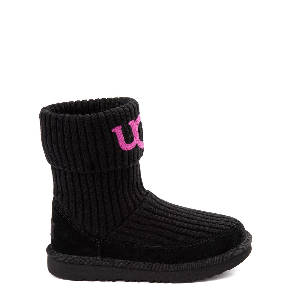 UGG® Knit Boot - Little Kid / Big Kid - Black