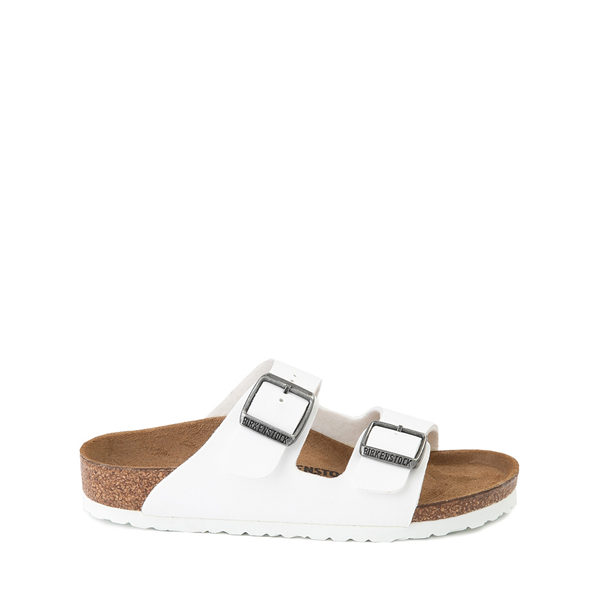 Main view of Birkenstock Arizona Sandal - Little Kid - White