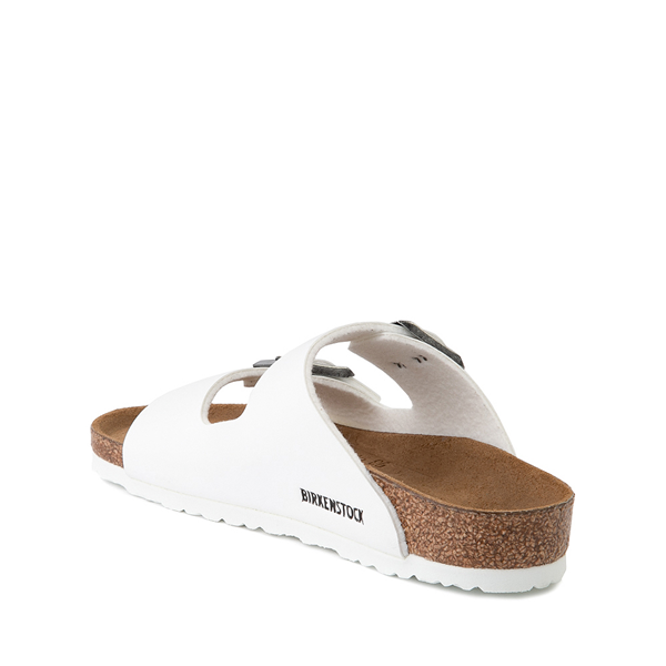 alternate view Birkenstock Arizona Sandal - Little Kid - WhiteALT1