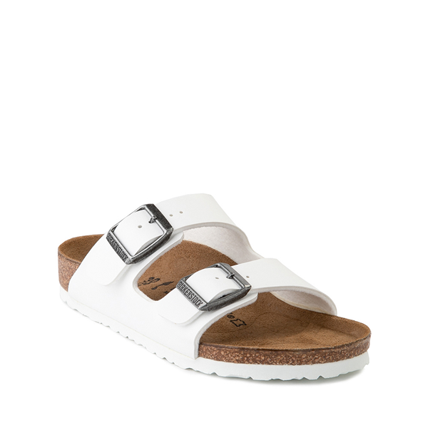 alternate view Birkenstock Arizona Sandal - Little Kid - WhiteALT5