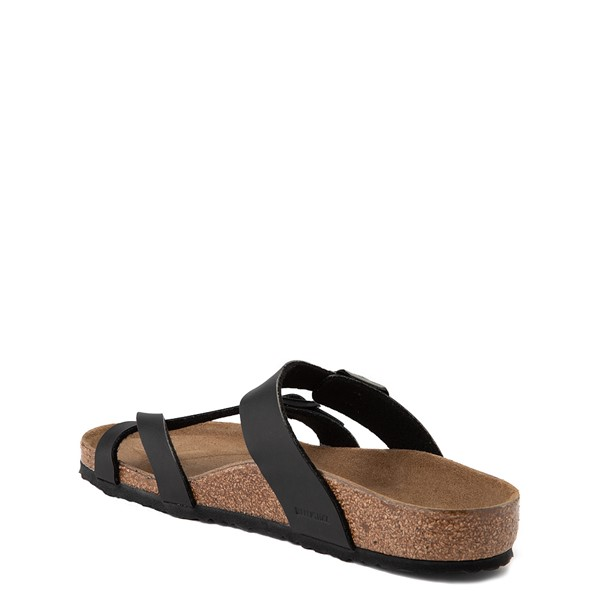 alternate view Birkenstock Mayari Sandal - Little Kid - BlackALT1