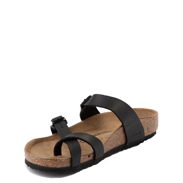 alternate view Birkenstock Mayari Sandal - Little Kid - BlackALT2