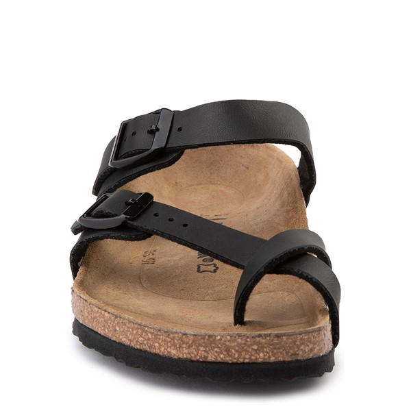 alternate view Birkenstock Mayari Sandal - Little Kid - BlackALT4