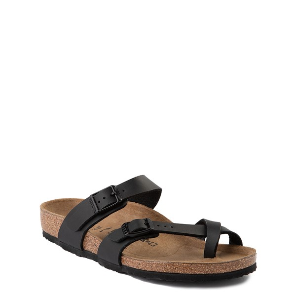 alternate view Birkenstock Mayari Sandal - Little Kid - BlackALT5