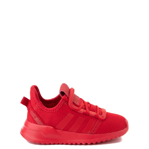 adidas U_Path Run Athletic Shoe - Baby / Toddler - Scarlet Monochrome