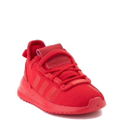 Alternate view of adidas U_Path Run Athletic Shoe - Baby / Toddler - Scarlet Monochrome