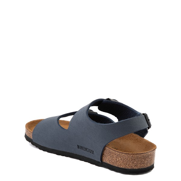 alternate view Birkenstock Roma Sandal - Toddler / Little Kid - NavyALT1