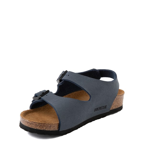 alternate view Birkenstock Roma Sandal - Toddler / Little Kid - NavyALT2