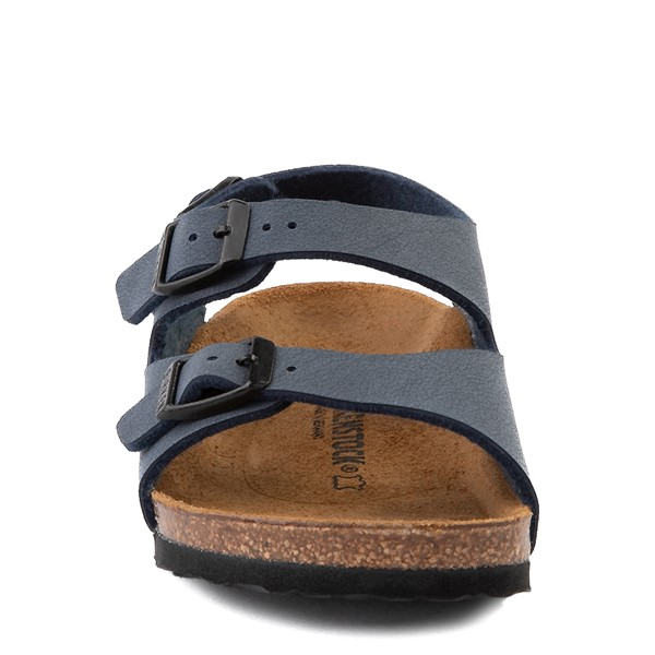 alternate view Birkenstock Roma Sandal - Toddler / Little Kid - NavyALT4