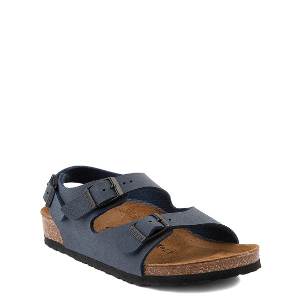 alternate view Birkenstock Roma Sandal - Toddler / Little Kid - NavyALT5