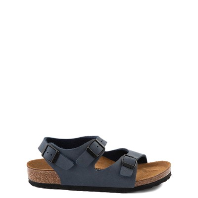 Main view of Birkenstock Roma Sandal - Toddler / Little Kid - Navy