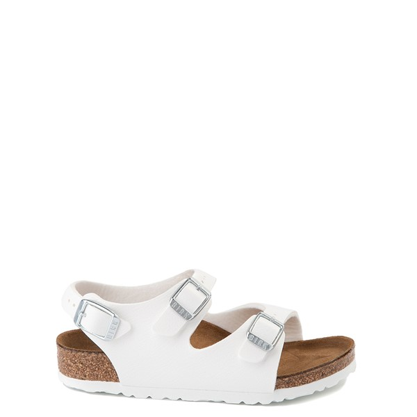 Main view of Birkenstock Roma Sandal - Toddler / Little Kid - White
