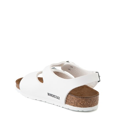 Alternate view of Birkenstock Roma Sandal - Toddler / Little Kid - White