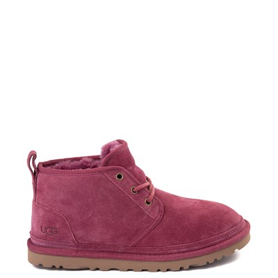 Main view of Womens UGG® Neumel Short Boot - Dark Pink