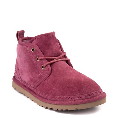 Alternate view of Womens UGG® Neumel Short Boot - Dark Pink
