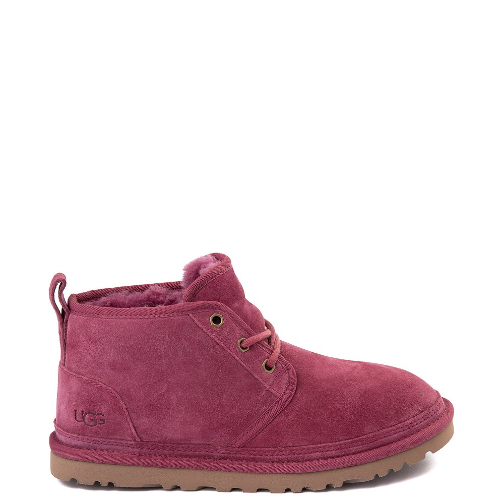 Womens UGG® Neumel Short Boot - Dark Pink