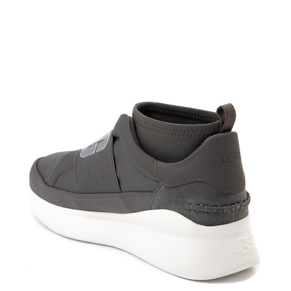 alternate view Womens UGG® Neutra Sneaker - CharcoalALT2