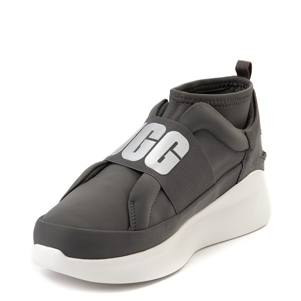 alternate view Womens UGG® Neutra Sneaker - CharcoalALT3