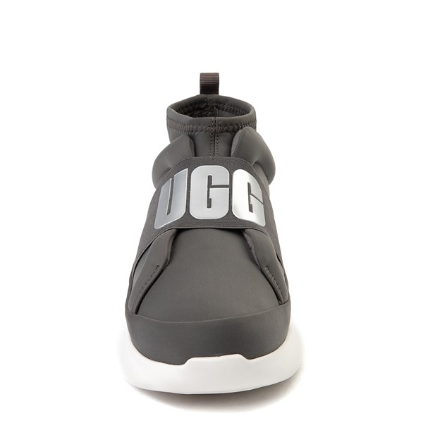 alternate view Womens UGG® Neutra Sneaker - CharcoalALT4