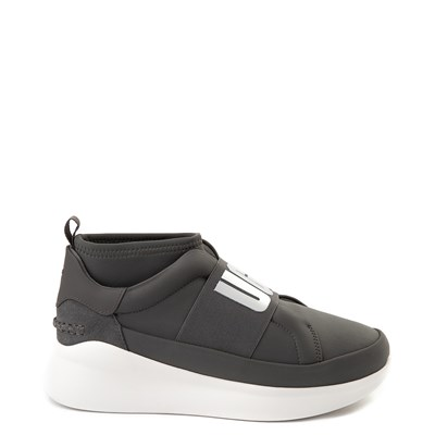 Main view of Womens UGG® Neutra Sneaker - Charcoal