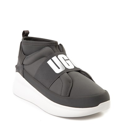 Alternate view of Womens UGG® Neutra Sneaker - Charcoal