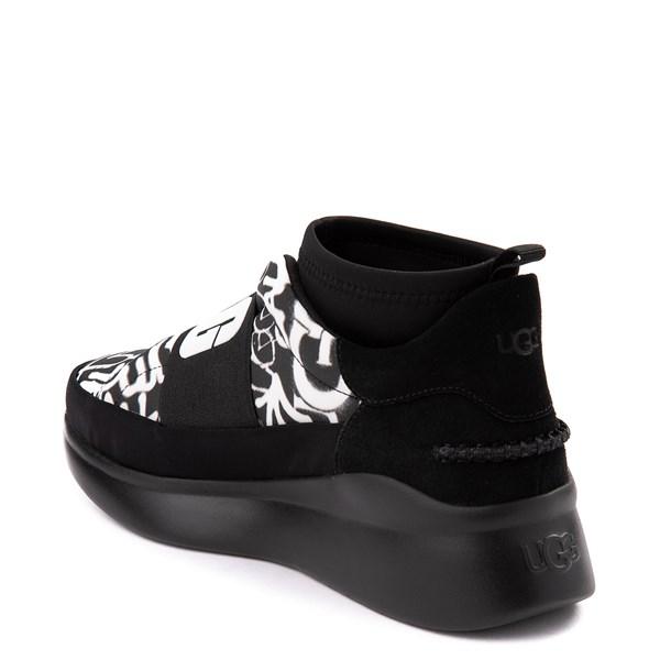 alternate view Womens UGG® Neutra Graffiti Pop SneakerALT2