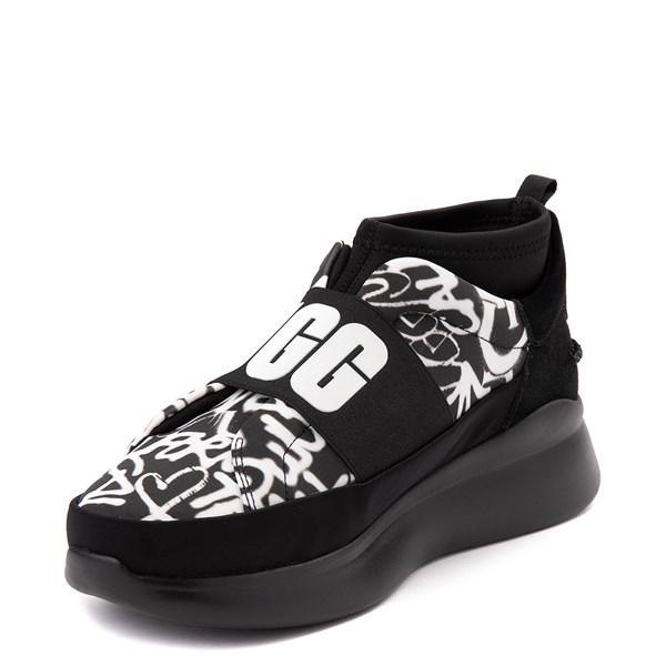 alternate view Womens UGG® Neutra Graffiti Pop SneakerALT3