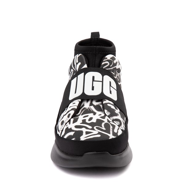 alternate view Womens UGG® Neutra Graffiti Pop SneakerALT4