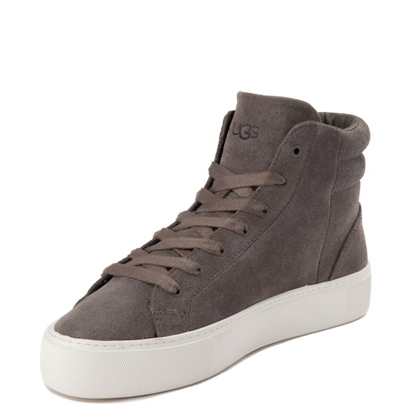 alternate view Womens UGG® Olli Casual Shoe - GrayALT3