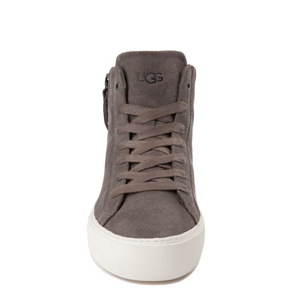 alternate view Womens UGG® Olli Casual Shoe - GrayALT4