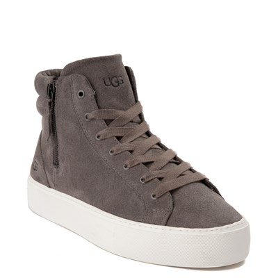 Alternate view of Womens UGG® Olli Casual Shoe - Gray
