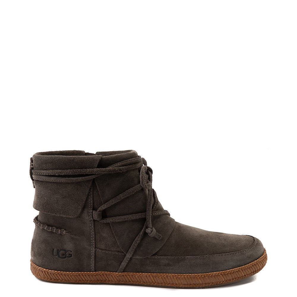 Womens UGG® Reid Moccasin Boot - Slate
