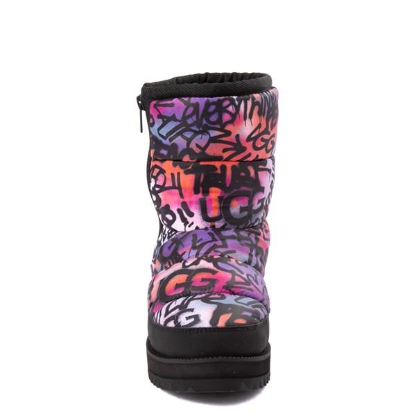 alternate view Womens UGG® Ridge Graffiti Pop Platform Boot - Black / MultiALT4