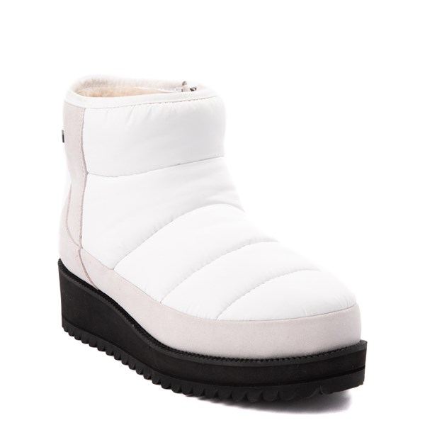 Alternate view of Womens UGG® Ridge Mini Boot - White