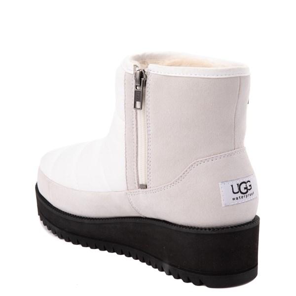 alternate view Womens UGG® Ridge Mini Boot - WhiteALT2