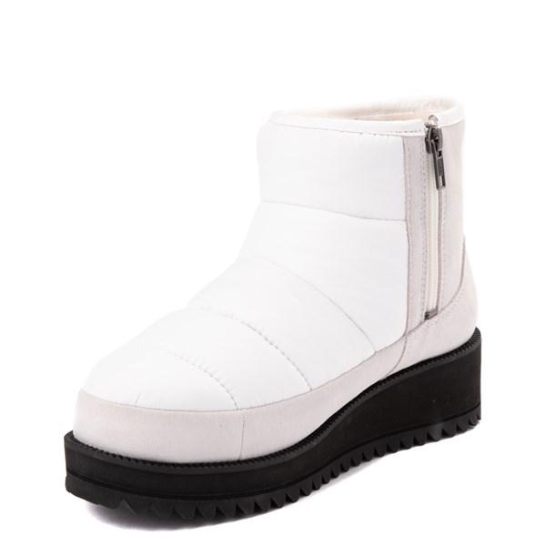 alternate view Womens UGG® Ridge Mini Boot - WhiteALT3