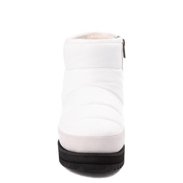 alternate view Womens UGG® Ridge Mini Boot - WhiteALT4
