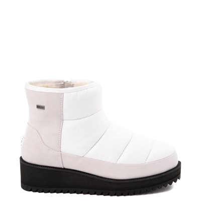 Main view of Womens UGG® Ridge Mini Platform Boot - White
