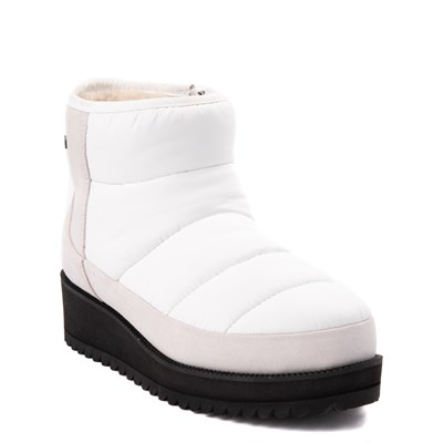 Alternate view of Womens UGG® Ridge Mini Platform Boot - White