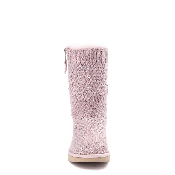 alternate view UGG® Knit Sequin Boot - Little Kid / Big KidALT4