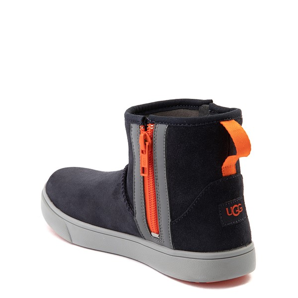 alternate view UGG® Adler Casual Shoe - Little Kid / Big Kid - True NavyALT1