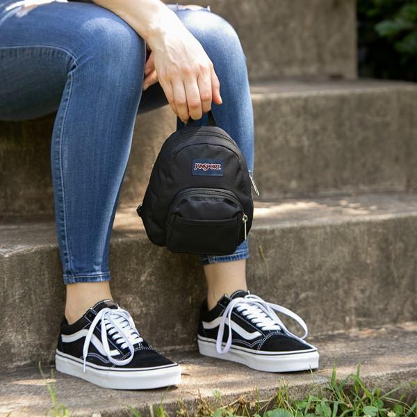 alternate view JanSport Quarter Pint Mini Backpack - BlackALT1BADULT