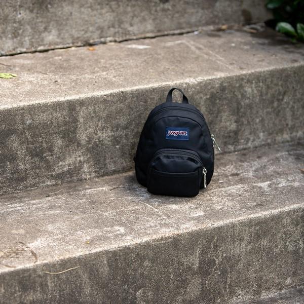 alternate view JanSport Quarter Pint Mini Backpack - BlackALT1BB